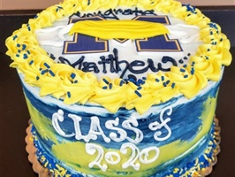 Graduation/Commitment Cakes