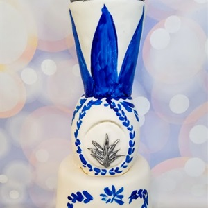 21st Birthday Tequila Bottle 3D Cake