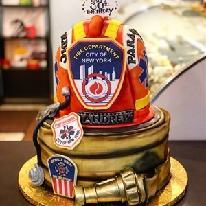 NYFD 30th Birthday Cake