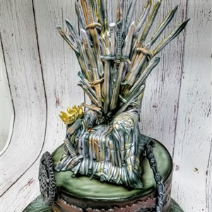 Game of Thrones 3D Birthday Cake